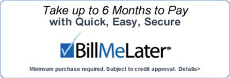Bill Me Later